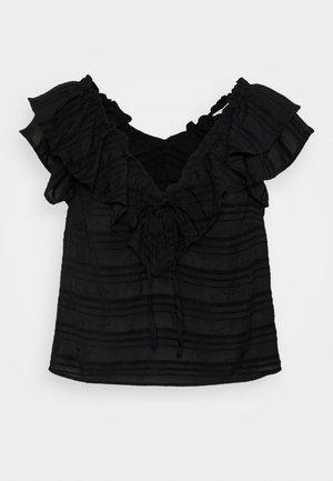 OBJRAFIA  - Blouse - black