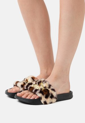 LEADCAT LEO - Mules - black/gold