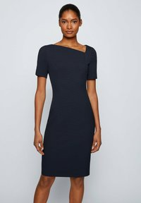BOSS - DAKERA - Jersey dress - open blue - 0