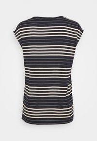 Esprit Collection - STRIPE TEE - T-shirt print - navy - 1