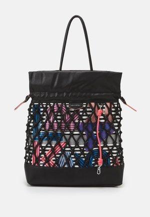KNOTS HOBO - Handbag - black