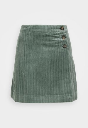 MARLIE - A-line skirt - green root