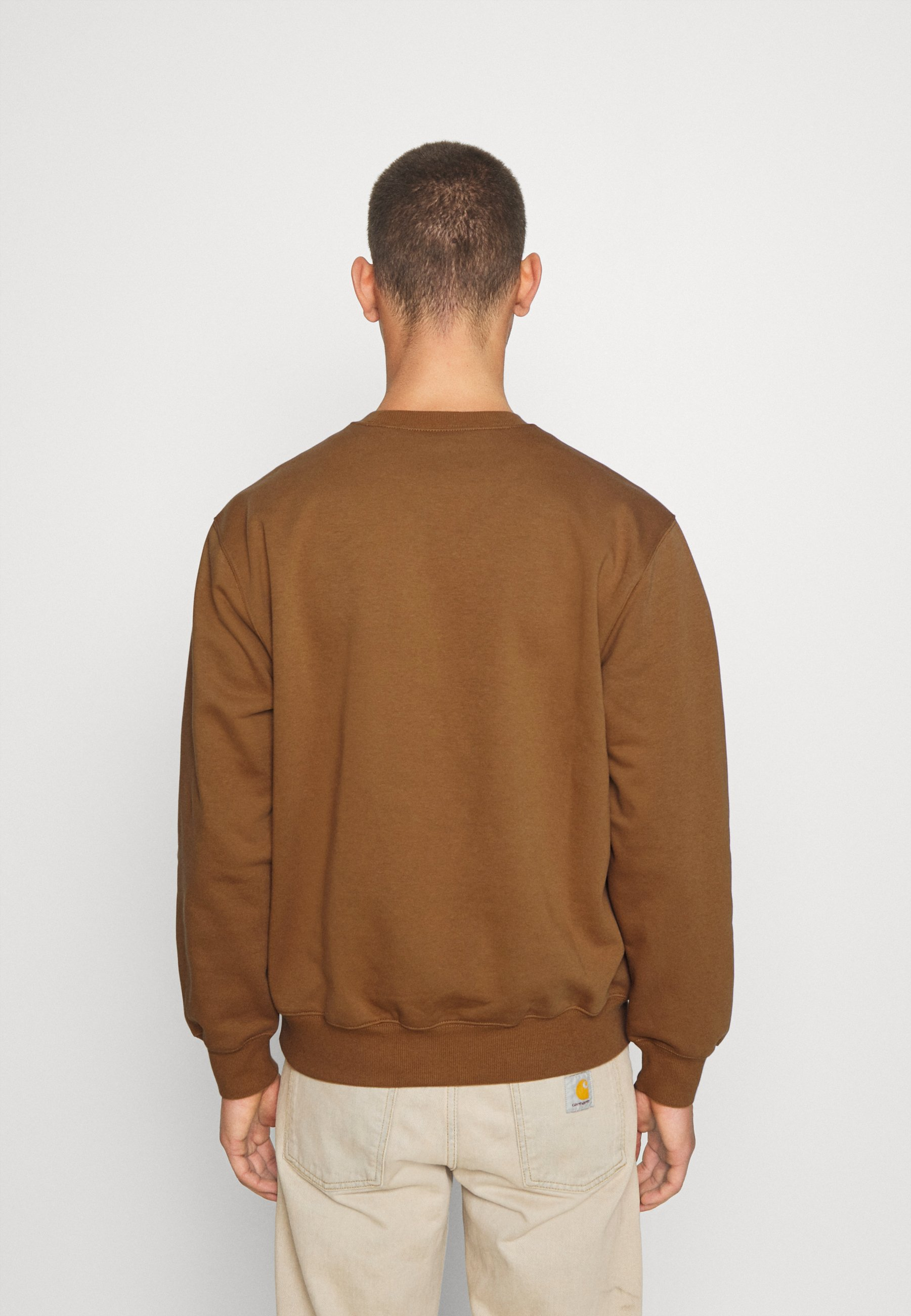 Carhartt WIP Sweatshirt hamilton brownblackbraun
