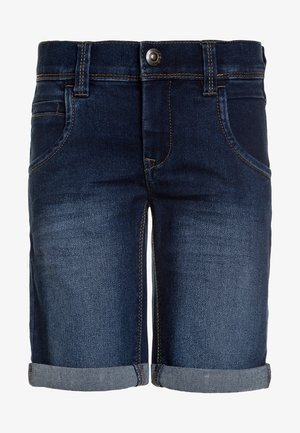 NKMSOFUS - Farkkushortsit - medium blue denim