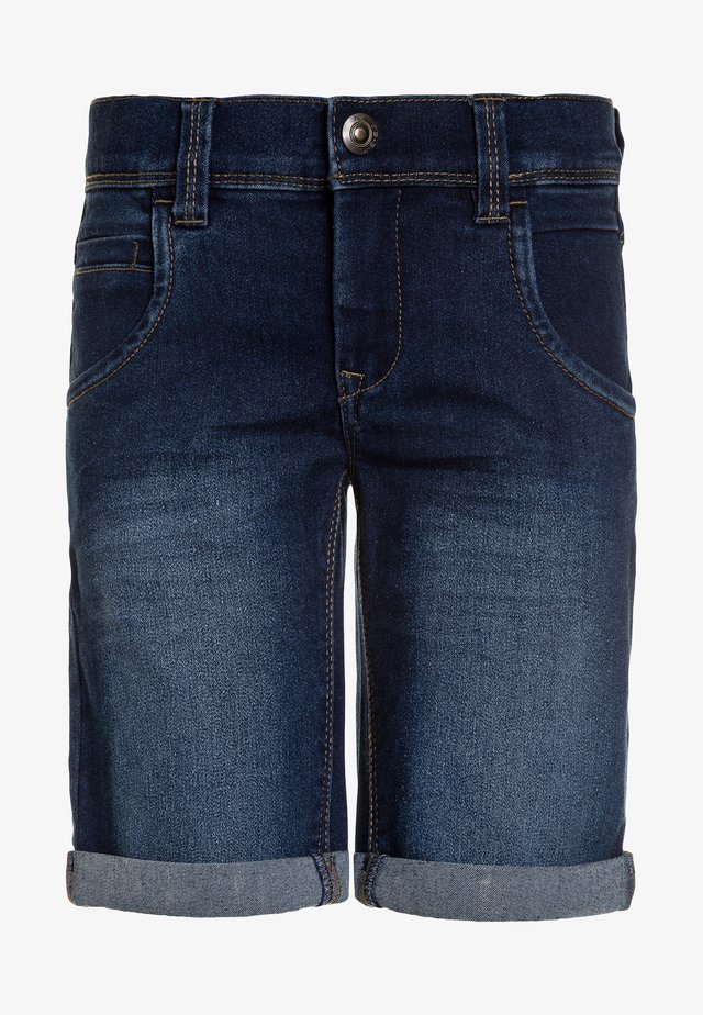 NKMSOFUS - Shorts di jeans - medium blue denim