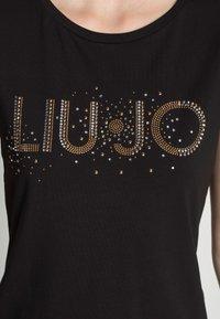 Liu Jo Jeans - T-shirt z nadrukiem - nero - 4