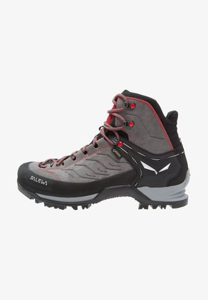 MTN TRAINER MID GTX - Mountain shoes - charcoal/papavero