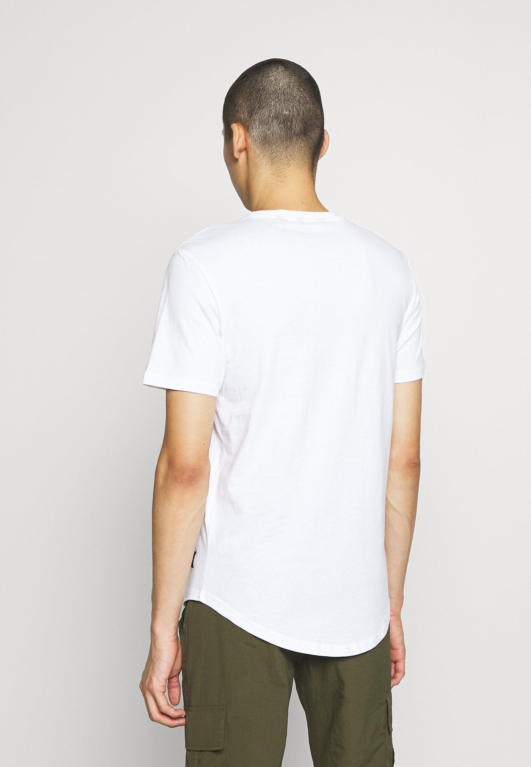 Only & Sons ONSMATT LONGY TEE 2 PACK - Basic T-shirt - black/white PmUUq
