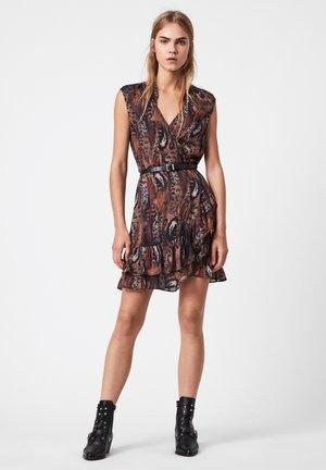 DARLEY FUSION DRESS - Day dress - brown
