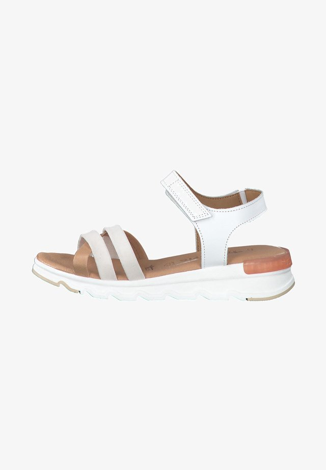 Sandales à plateforme - white comb