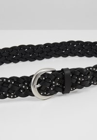 Marc O'Polo - BELT LADIES - Cinturón trenzado - black - 5