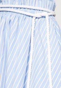 Mossman - THE CRYSTAL SEA SKIRT - A-line skirt - blue/white - 4