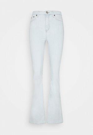 BLEACH FLARE JEAN - Flared jeans - light blue