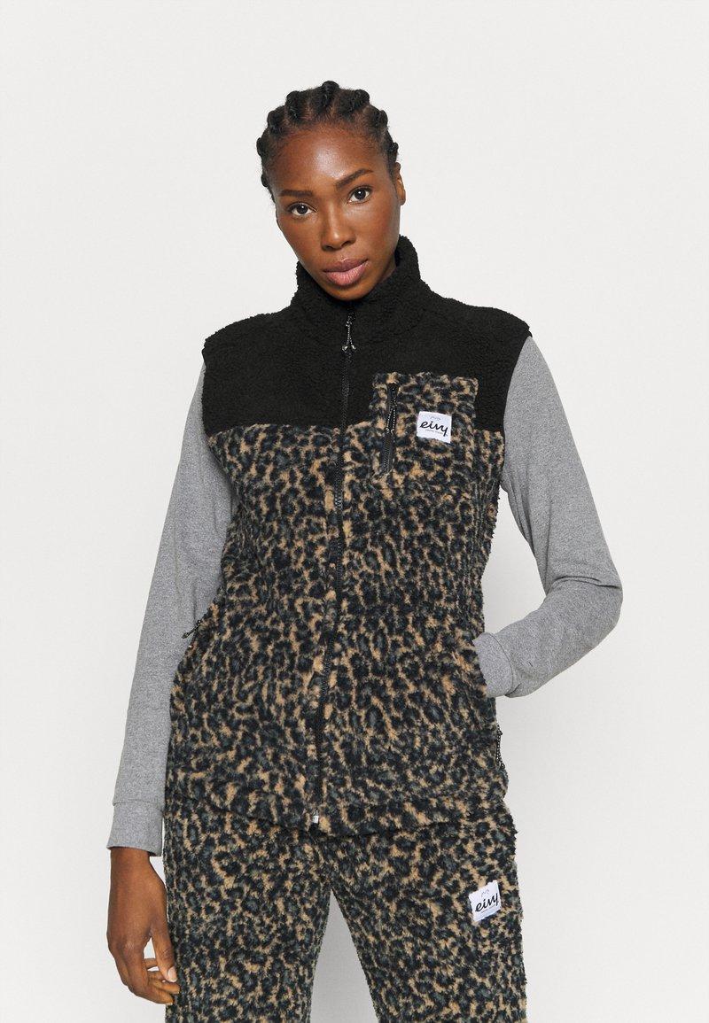 Eivy - LUMBER - Waistcoat - brown