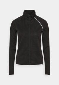 ONLY Play - ONPPERFORMANCE RUN BRUSHED ZIP - Sports jacket - black - 0