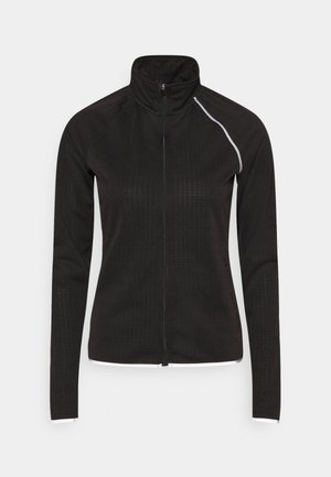 ONPPERFORMANCE RUN BRUSHED ZIP - Běžecká bunda - black