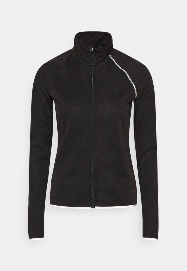 ONPPERFORMANCE RUN BRUSHED ZIP - Sports jacket - black