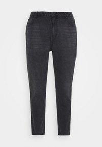 VMJOANA MOM ANKLE  - Relaxed fit jeans - black