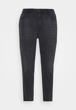 VMJOANA MOM ANKLE  - Jeans relaxed fit - black