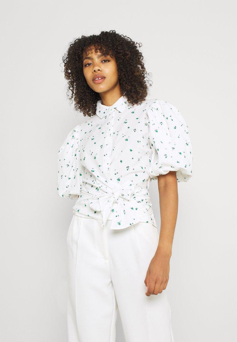 Envii - ENLEILANI SHIRT - Button-down blouse - white