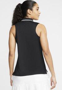 Nike Golf - DRY VICTORY - Sports shirt - black/white - 2