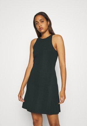 OBJCELIA SHORT DRESS - Day dress - scarab