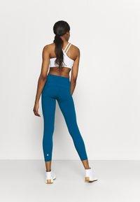 Sweaty Betty - POWER WORKOUT 7/8 LEGGINGS - Leggings - teal blue - 2