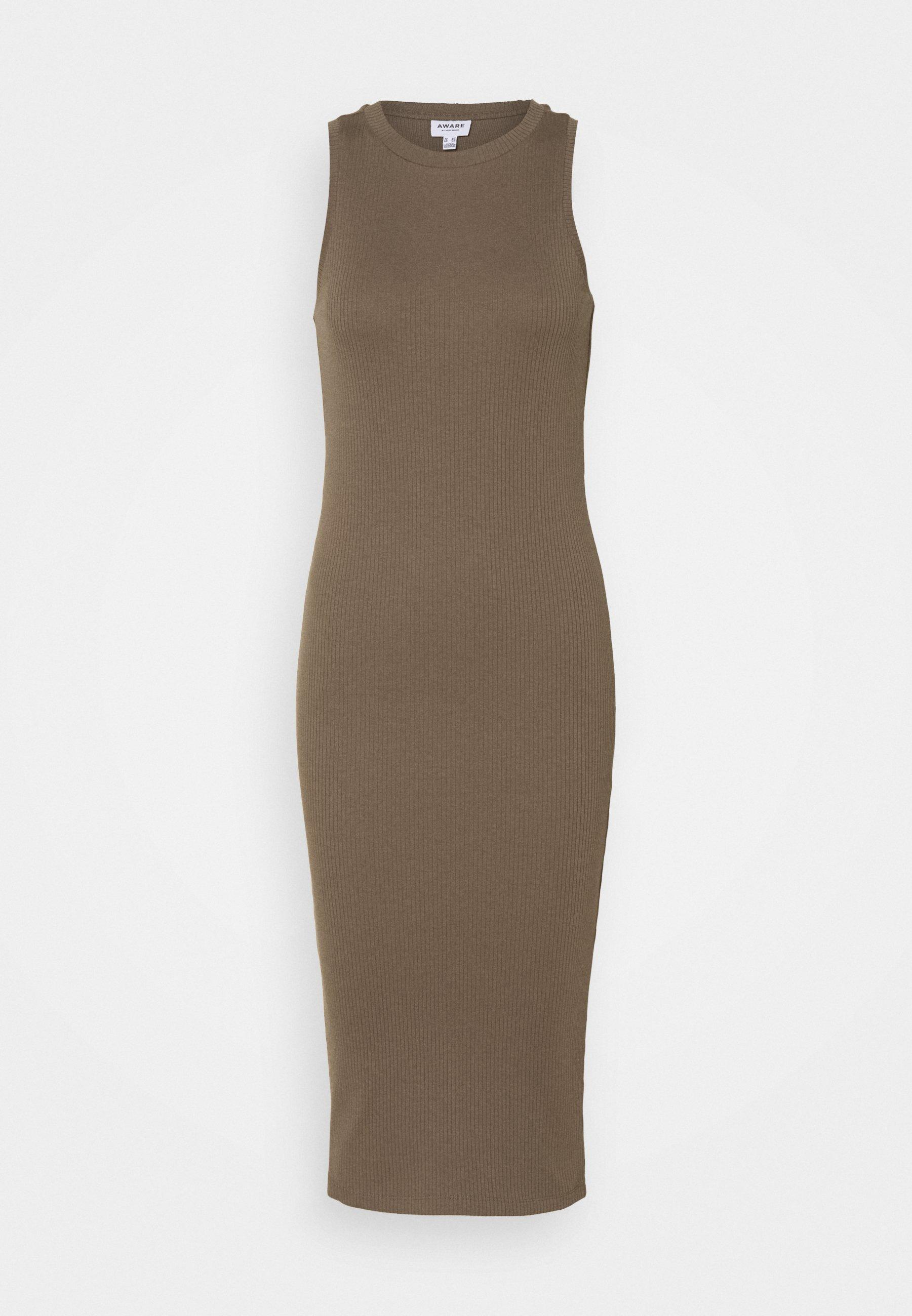 Femme VMLAVENDER CALF DRESS - Robe pull