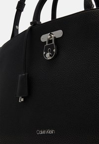 Calvin Klein - BUSINESS TOTE - Aktovka - black - 3