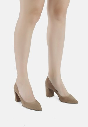 Classic heels - cream