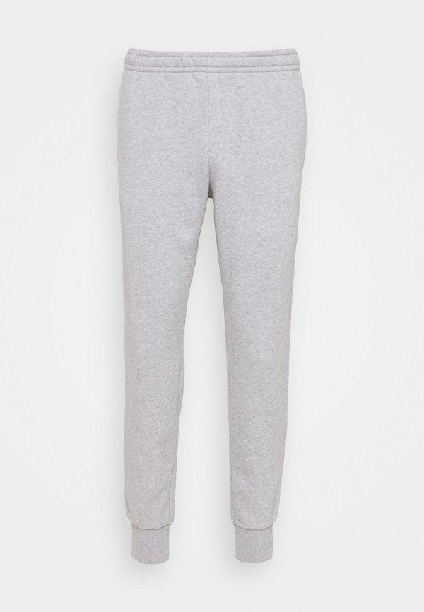 Lacoste Spodnie treningowe - silver chine/jasnoszary Odzież Męska ZXZE