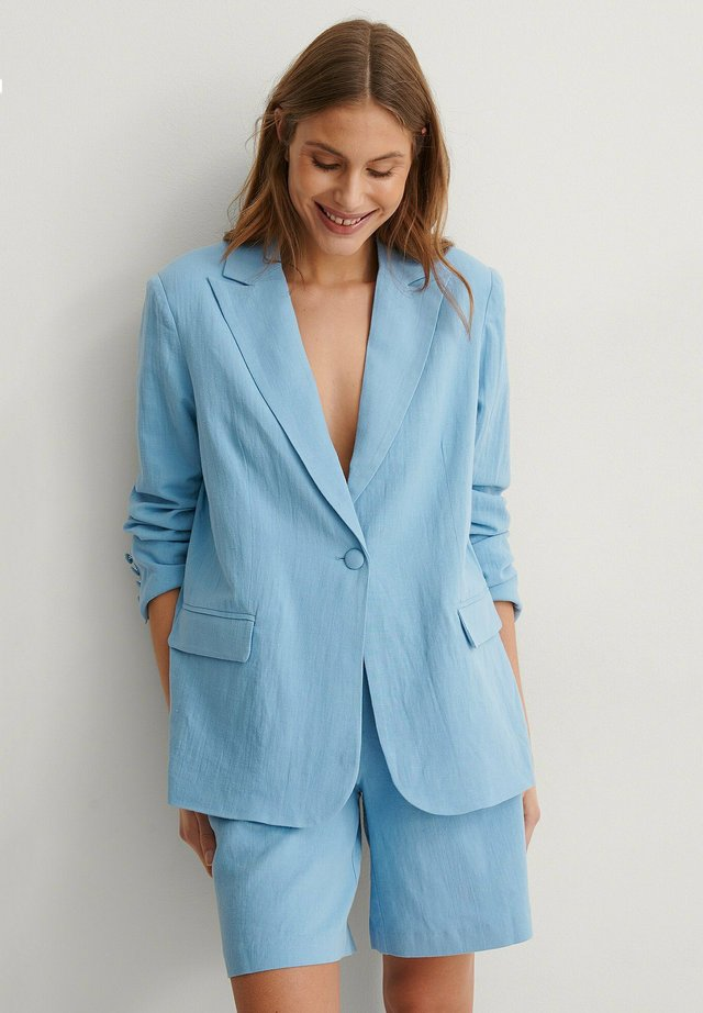 Blazer - dusty blue