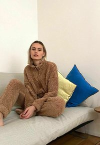 Noisy May - HOSE TEDDY - Tracksuit bottoms - tigers eye - 5