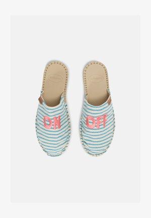 MULE FUN ECO UNISEX - Pantofle - light blue