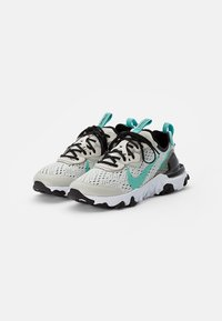 Nike Sportswear - NIKE REACT VISION UNISEX - Tenisky - bone/tropical twist-black-white - 1