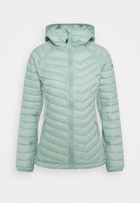 POWDER LITE LIGHT HOODED JACKET - Outdoor jacket - aqua tone