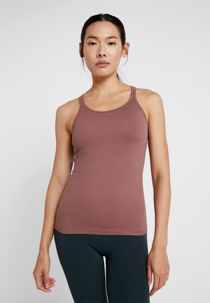 STRAP YOGA TANK - Top - burnt rose