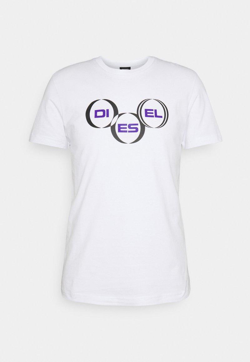 Diesel - DIEGOS UNISEX - T-shirt con stampa - white