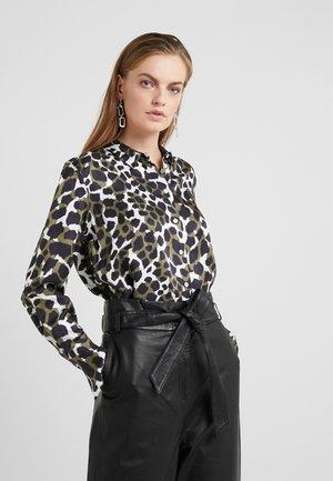 COLOGNE - Button-down blouse - winter moss