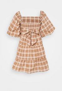 Faithfull the brand - ERYN MINI DRESS - Denní šaty - orange - 1