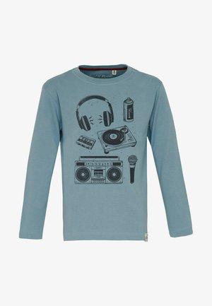 Långärmad tröja - arctic-blue
