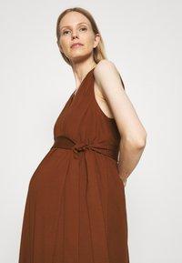 IVY & OAK Maternity - DOREEN - Maxi dress - marsalla - 3