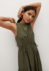 Mango - ABRIL - Maxi šaty - khaki - 2