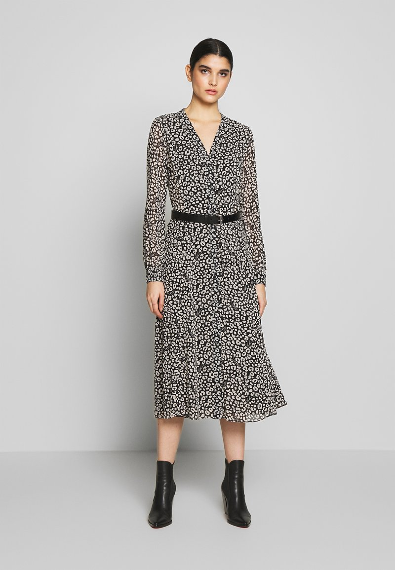 MICHAEL Michael Kors - DRESS - Shirt dress - black/bone