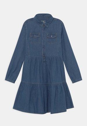 KID DRESS - Denim dress - ensign blue