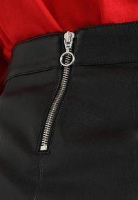 Vero Moda - VMYOURS BUTTER SHORT SKIRT - Mini skirts  - black - 4
