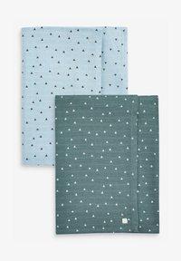 Next - UNISEX - Muslin blanket - blue - 0