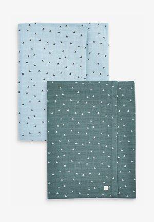 2 PACK  - Muslin blanket - blue