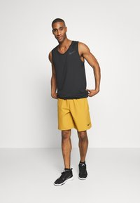 Nike Performance - TANK DRY - T-shirt sportiva - black/white - 1