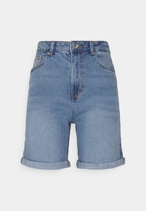 VMJOANA  - Denim shorts - light blue denim
